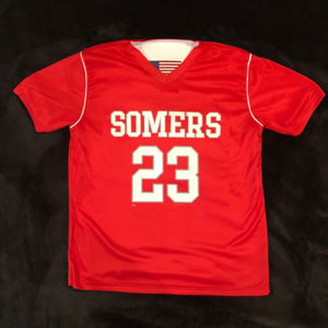 Somers Lax Reversible Jersey Red/White Thumbnail